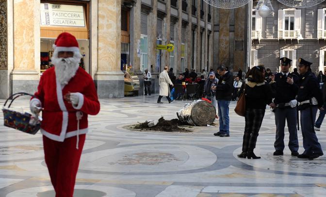Natale 2009, l'ennesimo furto