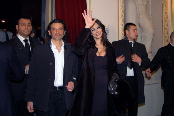 Mariagrazia Cucinotta e Enrico Loverso al Bifest nel Petruzzelli