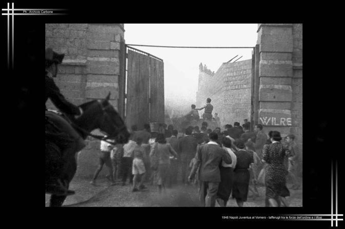 1946 - Scontri Napoli-Juventus