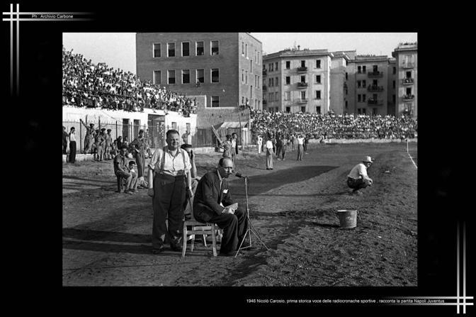 1946 - Prime radiocronache sportive