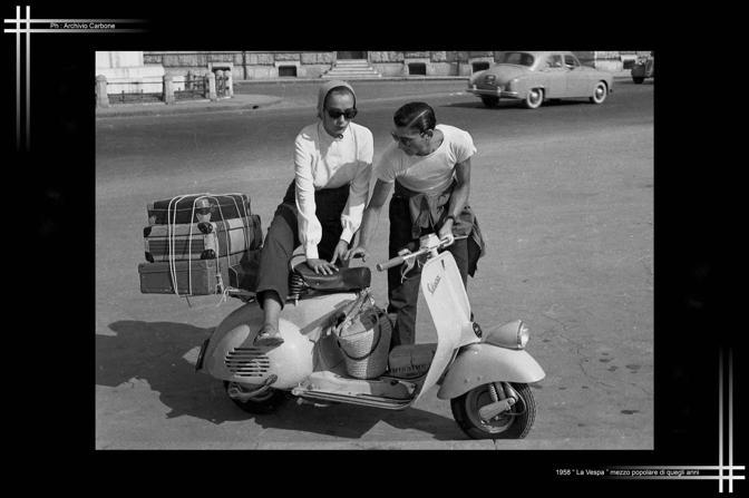 1958 - La Vespa, mezzo popolare