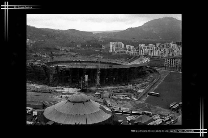 1958 - Stadio del Sole, oggi San Paolo