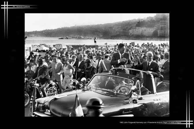 1963 - Kennedy e Segni a Napoli
