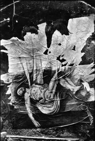 Disegno di Ernest Pignon e foto di Alain Volut