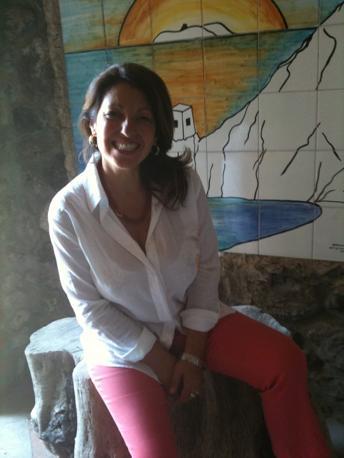 Il volto sorridente di Teresa Buonocore. La donna, madre di due figli era originaria di Portici, Comune del Vesuviano alle porte di Napoli (Ph. S. Di Domenico)