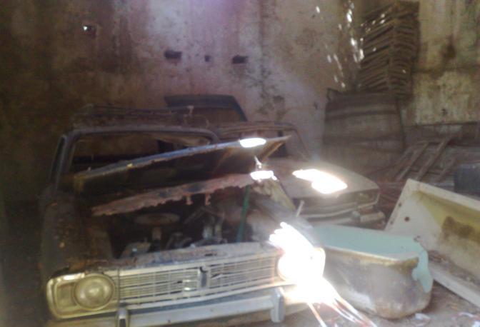 Il casolare adiacente, set di una scena con la Finocchiaro, è stato  recentemente preso di mira da ignoti, responsabili di un raid vandalico