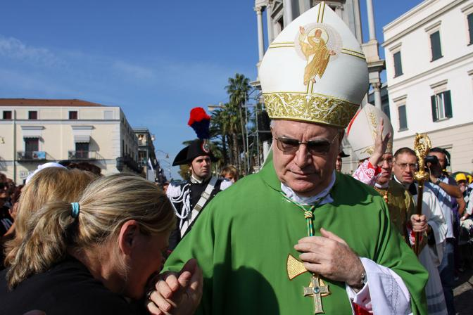 Nella foto monsignor Carlo Liberati