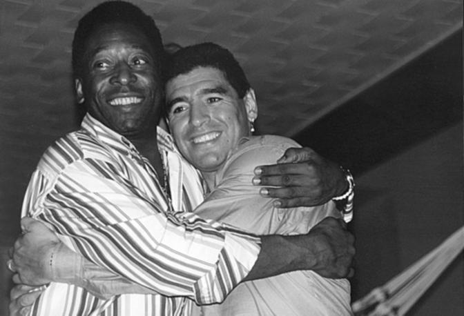Maradona e Pelè