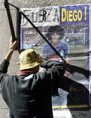 Buenos Aires: tifosi di Diego Armando Maradona