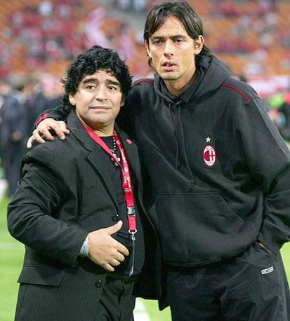 Maradona e Inzaghi
