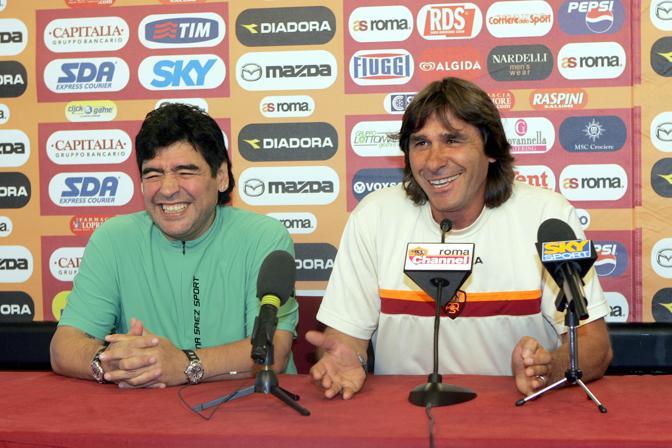 Con Bruno Conti