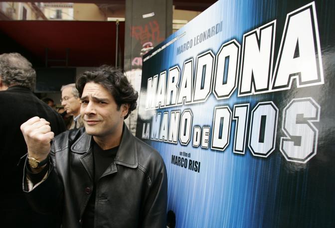Presentazione del film «La mano de dios» di Marco Risi. Protagonista Marco Leonardi