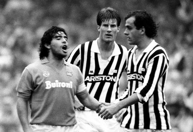Napoli-Juventus dell'85 (lapresse)