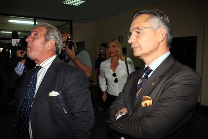 L'ex comandante dei Ris Luciano Garofano. Fa parte del pool investigativo di Gentile e Biscotti