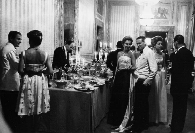 Il buffet della festa