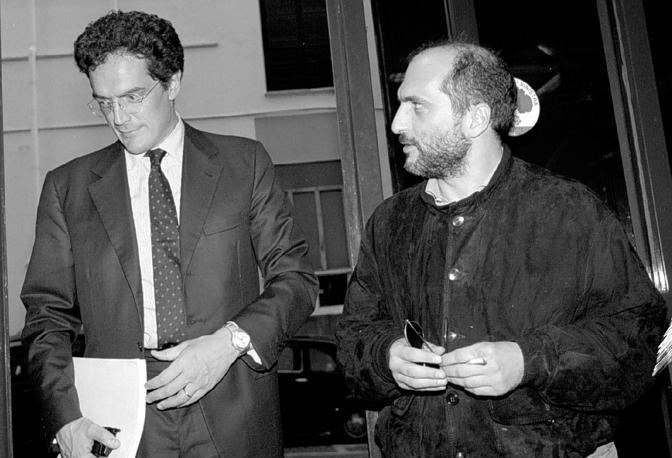 Pietro Folena con Andrea Cozzolino