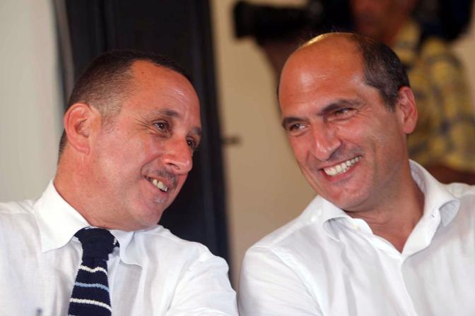 Con Antonio Polito