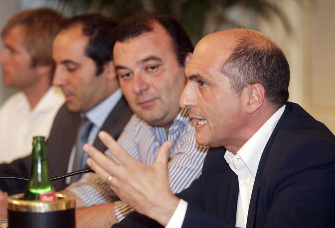 Cozzolino e Fulvio Martusciello, tra i papabili del Pdl per la candidatura a sindaco