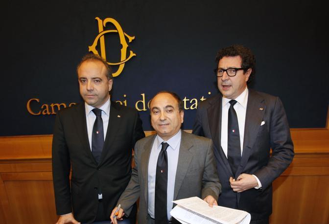 Bruno Cesario Domenico Scilipoti Massimo Calearo