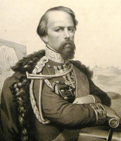 Il generale dell'esercito Savoia, Cialdini