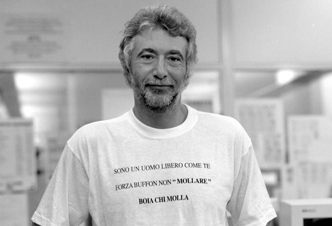 Enzo Rivellini nel 2000