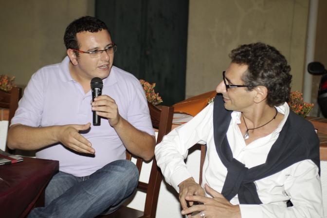 Borrelli con Piccirillo, di Radio Kiss Kiss