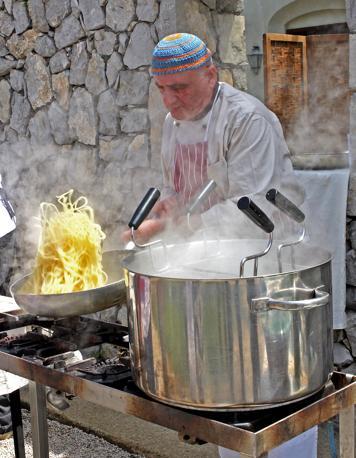Antonio Tubelli prepara il