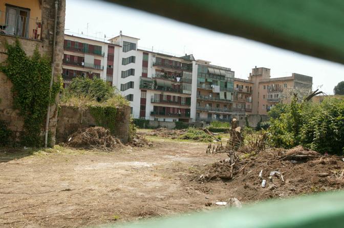 Il cantiere del nuovo parcheggio in via san carlo - Parcheggio interrato ...