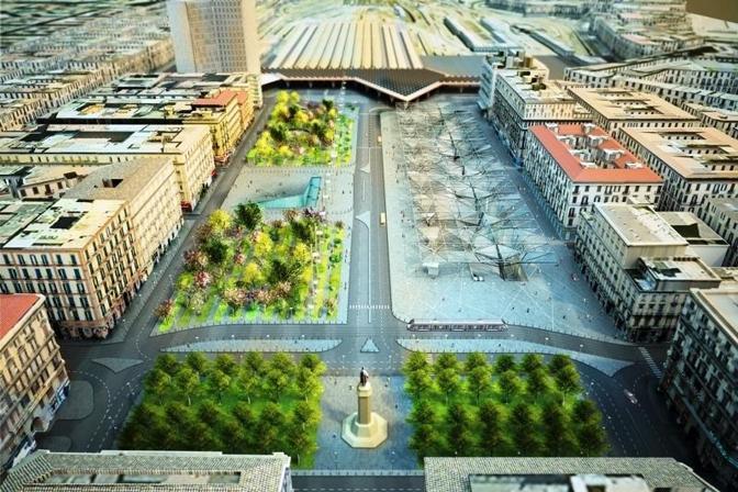 La piazza Garibaldi che verrà