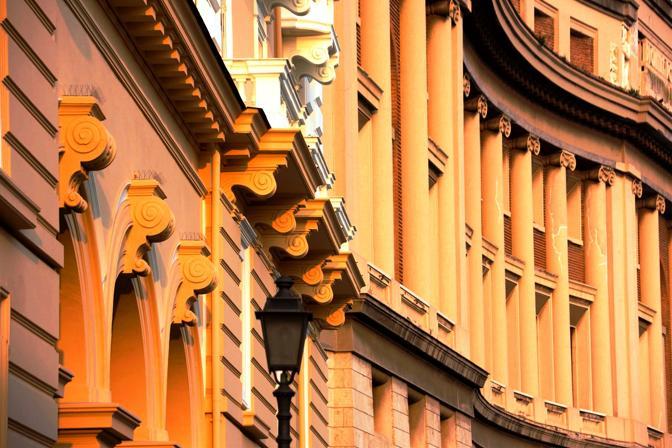 Palzzo di Città realizzato su progetto dell'ingegner Camilo Guera - inizi lavori 1931 consegna 1936