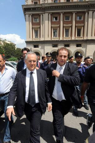 Claudio Lotito, già patron laziale