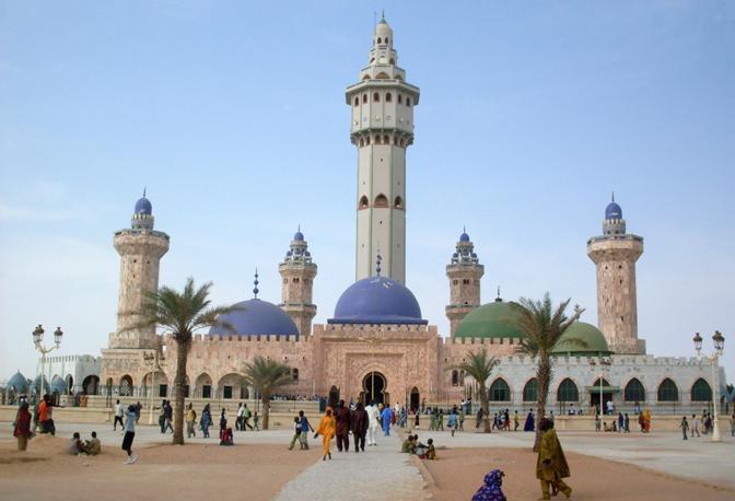 La moschea di Touba in Senegal