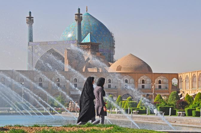 Moschea ad Ishfahan in Iran
