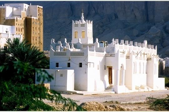 La moschea della città di Shibam nello Yemen
