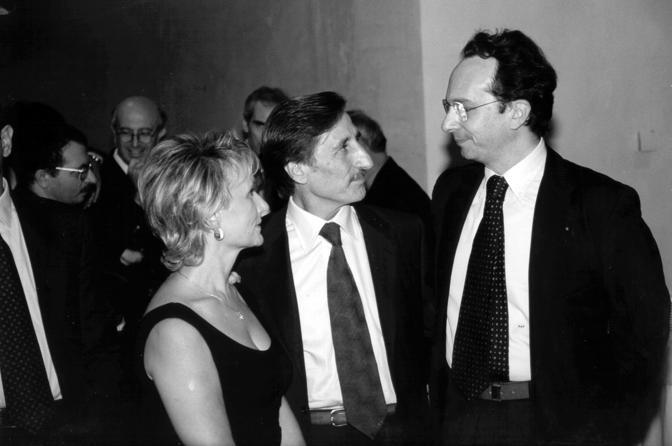 Lorenzo Diana con Sandro de Franciscis, ex presidente della Provincia di Caserta
