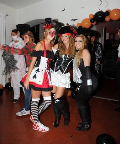 Halloween Napoli.La Festa Di Halloween Del Napoli Corrieredelmezzogiorno