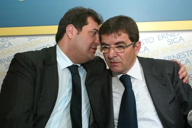 Nicola Cosentino con  Ernesto Sica