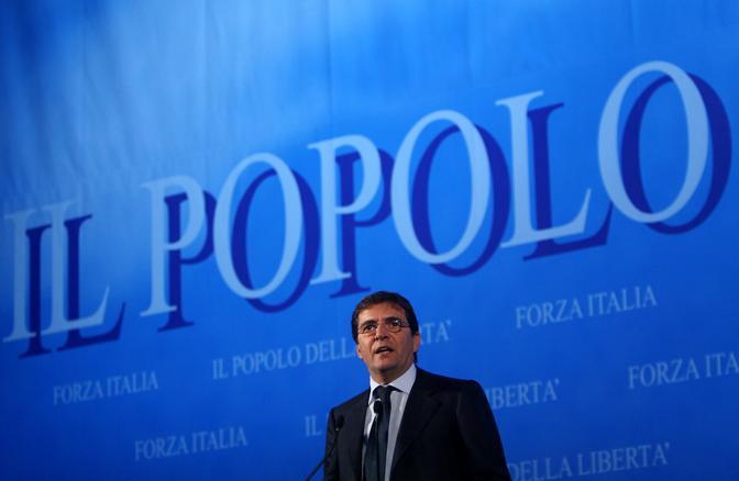 Consiglio nazionale di Forza Italia (ph. lapresse)