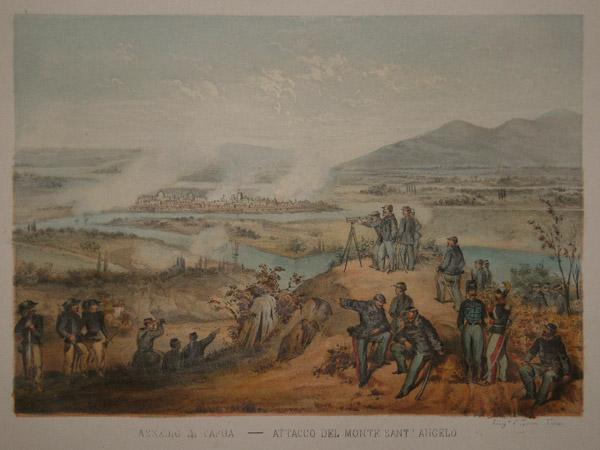 L'assedio di Capua e Gaeta del 1860 in cui De Renzis, ufficiale sabaudo e capuano d'origine, ordinò di bombardare casa sua