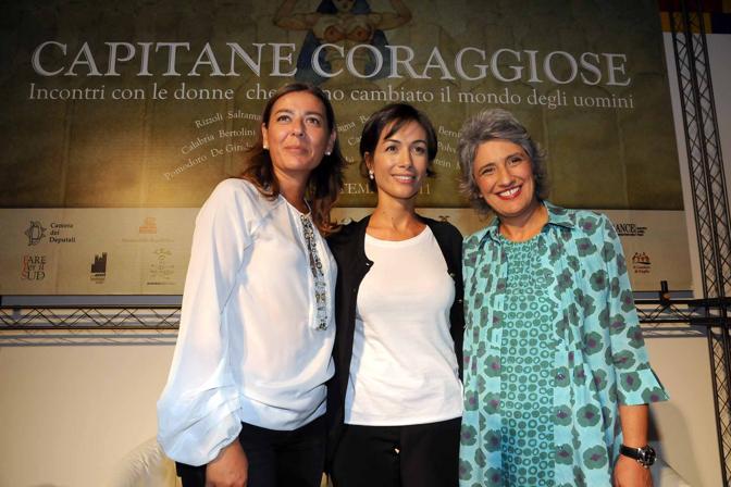 Saltamartini Mara Carfagna e Paola Concia
