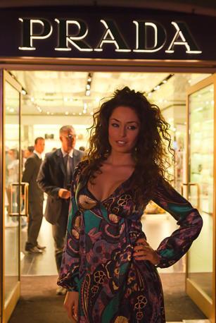 Raffaella Fico a La Reggia Designer Outlet