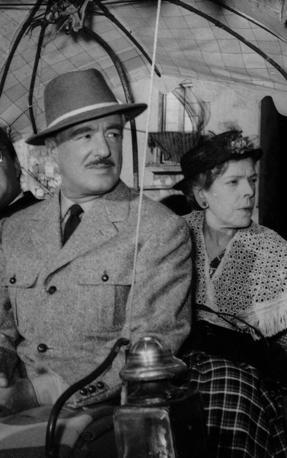 Vittorio De Sica e Tina Pica foto Scozzafava