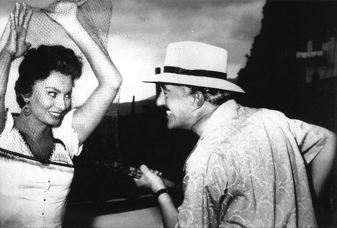 DAL FILM MARUZZELLA - DE SICA - LOREN - Da La Conchiglia