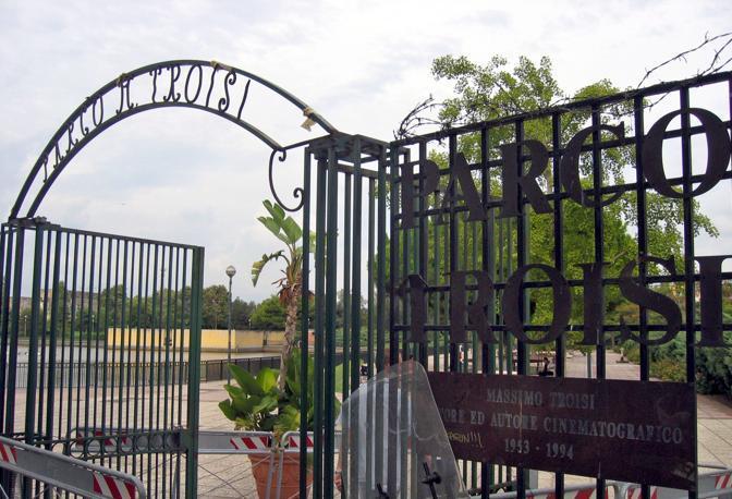 Il Parco Troisi a San Giovanni a Teduccio