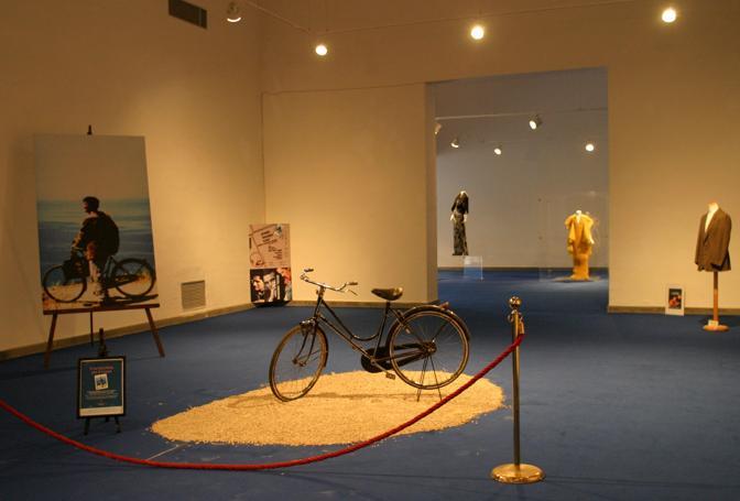 La bicicletta del Postino in mostra