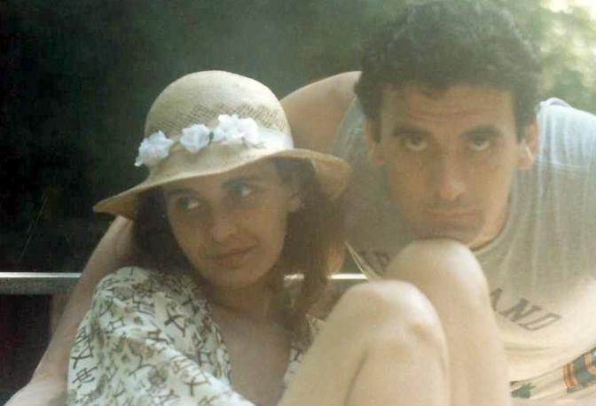Con la sceneggiatrice Anna Pavignano
