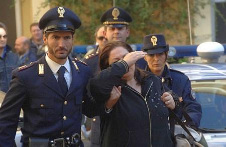 Giuseppina Nappa, moglie di «Sandokan», arrestata il 30 settembre 2008, e successivamente rilasciata