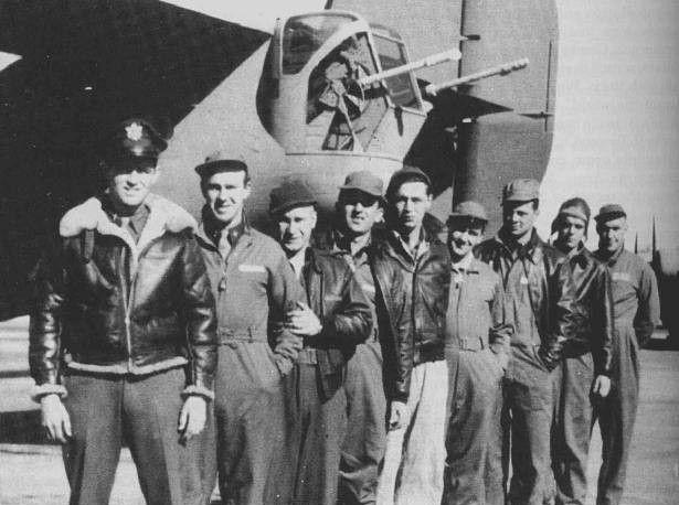 L'equipaggio del Lady Be Good. Morirono tutti nel deserto libico