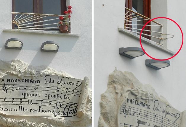 Marechiaro perde il suo garofano corrieredelmezzogiorno - Portavasi da finestra ...