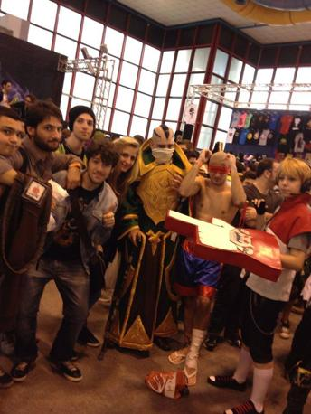 Comicon 2014, tra Cosplay e Tv Series